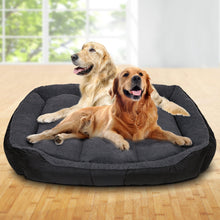 Load image into Gallery viewer, Extra Extra Large Fleece Washable Pet Bed - Grey