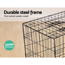 Load image into Gallery viewer, 24inch Pet Cage - Black