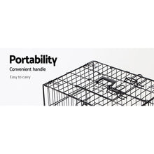 Load image into Gallery viewer, 36inch Pet Cage - Black