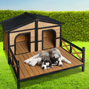 Extra Large Wooden Pet Kennel