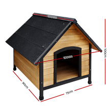Load image into Gallery viewer, Dog Kennel Kennels Outdoor Wooden Pet House Puppy Extra Large XL Outside