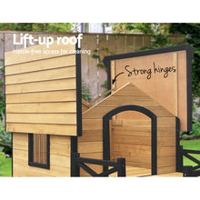 Load image into Gallery viewer, Dog Kennel Kennels Outdoor Wooden Pet House Puppy Extra Large XXL Outside