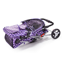 Load image into Gallery viewer, 3 Wheel Pet Stroller - Purple