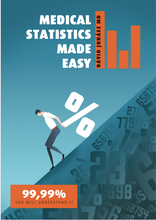 Load image into Gallery viewer, E-book - Medical statistics made easy
