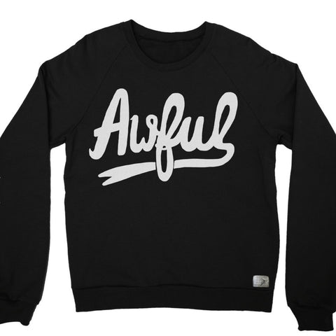 AWFUL CREWNECK - STAY HOME CLUB