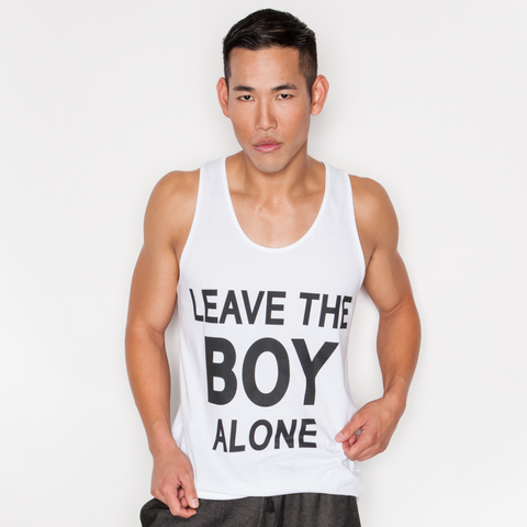 LEAVE THE BOY ALONE TANK