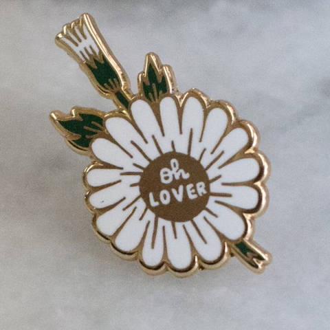 LOVER LAPEL PIN - STAY HOME CLUB