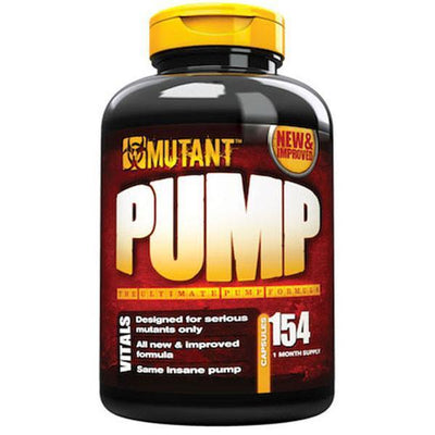 Mutant Pump 154 Caps - Supplements.co.nz