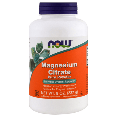 Now Foods Magnesium Citrate 227g
