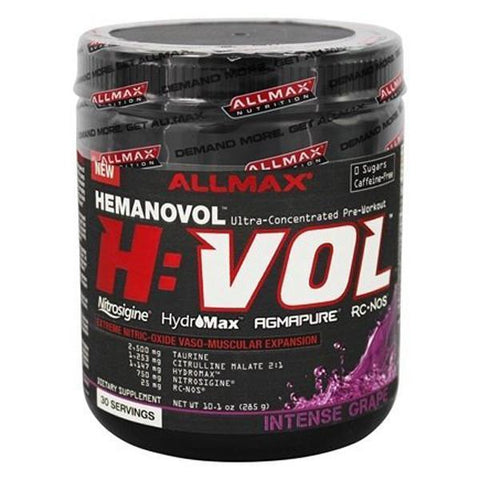 AllMax Nutrition Hemanovol 30 Serves - Supplements.co.nz