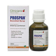 Clinicians - Clinicians Prospan Bronchial Syrup 100ml - Supplements.co.nz
