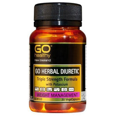 Go Healthy Go Herbal Diuretic 30 Veggie Caps