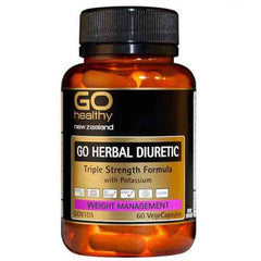 Go Healthy Go Herbal Diuretic 60 Veggie Caps
