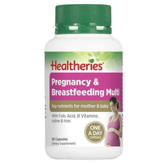 Healtheries Breastfeeding & Pregnancy 60 Tablets-Physical Product-Healtheries-Supplements.co.nz