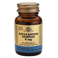 Solgar Astaxanthin Complex 4mg 30 Softgels-Physical Product-Solgar-Supplements.co.nz