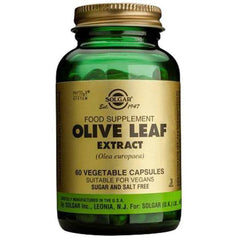 Solgar Olive Leaf Extract 60 Vegetable Capsules-Physical Product-Solgar-Supplements.co.nz