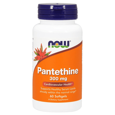 Now Foods Pantethine 300mg 60 Softgels