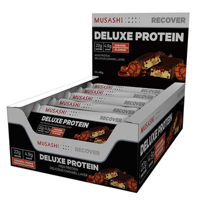 Musashi Deluxe Protein Bars 12x60g