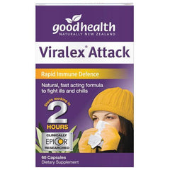 Good Health Viralex Attack 60 Capsules - Supplements.co.nz