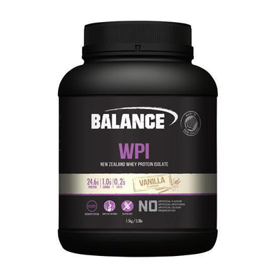 NEW Balance WPI 1.5kg - Supplements.co.nz