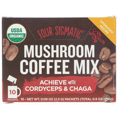 Four Sigmatic Mushroom Coffee with Cordyceps 10 Packets - Supplements.co.nz
