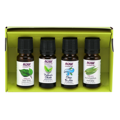 Now Foods Seasonal Changes Balancing Essential Oils Kits 4x10ml