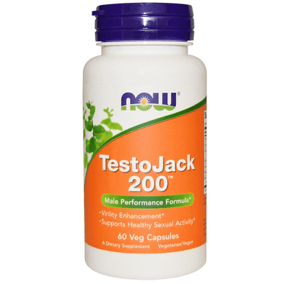Now Foods TestoJack 200mg 60 Veggie Caps