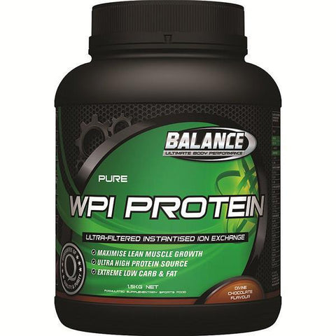 Balance WPI Whey Protein 1.5kg - Supplements.co.nz