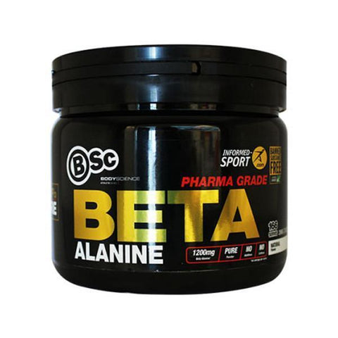 BSc Body Science Beta Alanine Pharmaceutical Grade 166 Servings - Supplements.co.nz