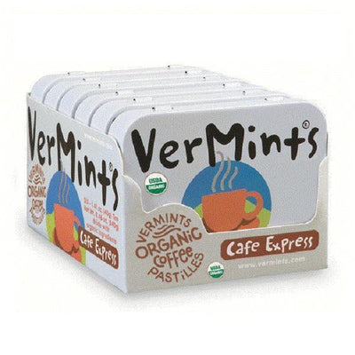 Vermints - Cafe Express 6 Tins/Outer - Supplements.co.nz