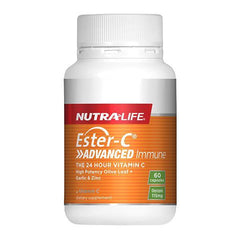 Nutralife Ester-C Advanced Immune 60 Capsules - Supplements.co.nz