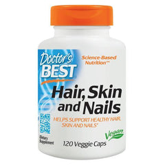 Doctor's Best Hair, Skin, and Nails - Vegan 120 Veggie Caps - Supplements.co.nz