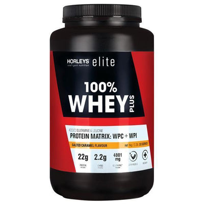 Horleys 100% Whey Plus 1kg - Supplements.co.nz