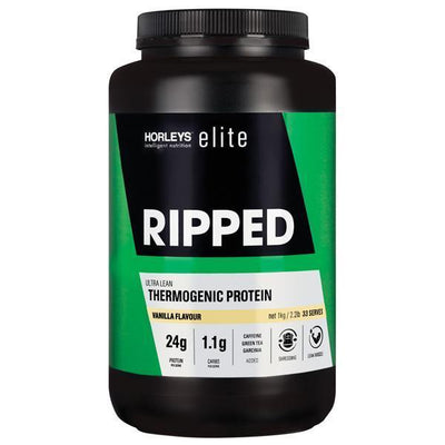 NEW Horleys Elite Ripped 1kg - Supplements.co.nz