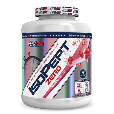 EHPLabs Isopept Zero Hydrolyzed Whey Protein Isolate 5 lbs / 75 Servings - Supplements.co.nz
