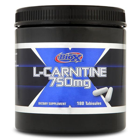 BioX L-Carnitine 750mg - 180 Capsules - Supplements.co.nz