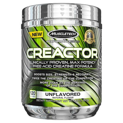 MuscleTech Creactor 120 Serves - Supplements.co.nz