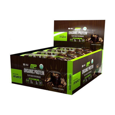MusclePharm Organic Protein Bars Box of 12 - Supplements.co.nz