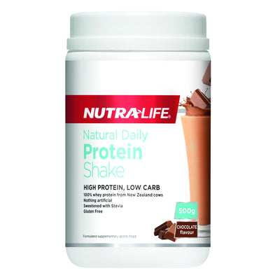 Nutralife Natural Daily Protein Shake 500g - Supplements.co.nz