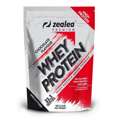 Zealea Whey Protein Concentrate 1kg - Supplements.co.nz
