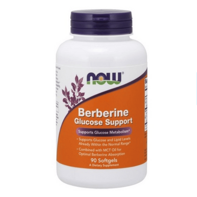 Now Foods Berberine Glucose Support 90 Softgels