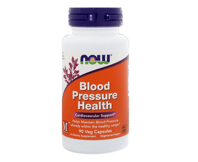 Now Foods Blood Pressure Health 90 Caps