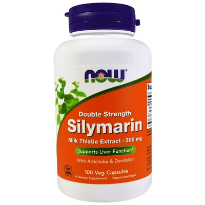 Now Foods Double Strength Silymarin 300mg 100 Caps