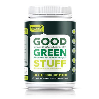 Nuzest Good Green Stuff 1kg - Supplements.co.nz