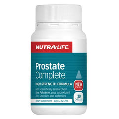 Nutralife Prostate Complete 30 Capsules - Supplements.co.nz