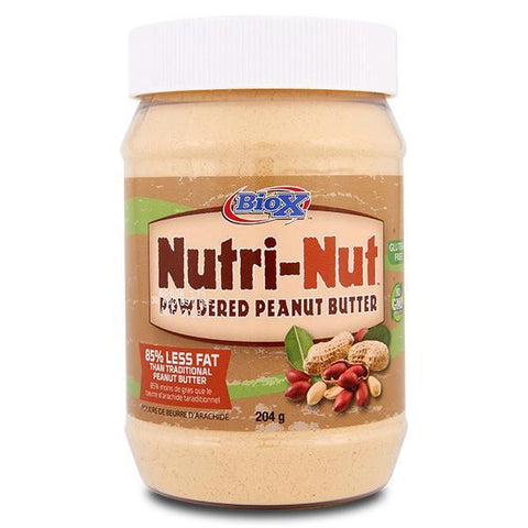 BioX Nutri-Nut Powdered Peanut Butter 204g - Supplements.co.nz