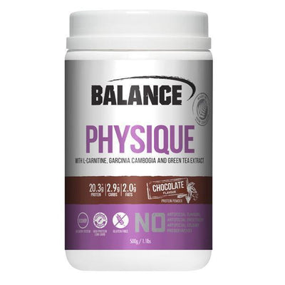 NEW Balance Physique 500g - Supplements.co.nz