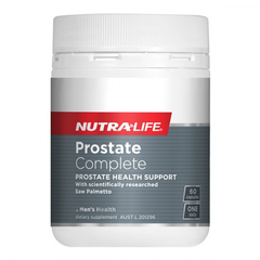 Nutralife Prostate Complete 60 Capsules - Supplements.co.nz
