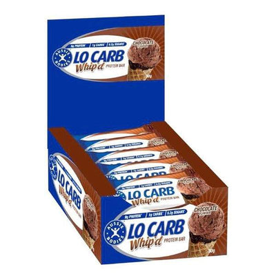 Aussie Bodies Lo Carb Whip'd Protein Bars 30g x12
