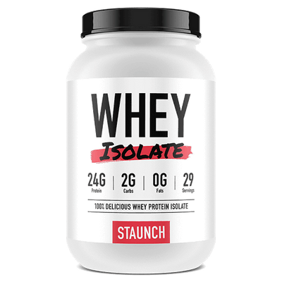 Staunch Nation Whey Isolate 2.4lb - Supplements.co.nz